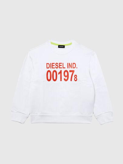 Diesel - SGIRKJ3 OVER, Blanco - Sudaderas - Image 1