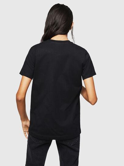 Diesel - T-SILY-ZF, Negro - Camisetas - Image 2
