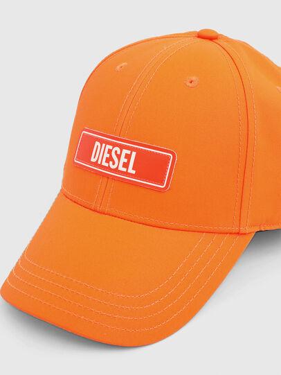 Diesel - C-7ELE, Naranja - Gorras - Image 3