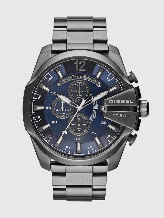 Diesel - DZ4329 MEGA CHIEF, Plata - Relojes - Image 1