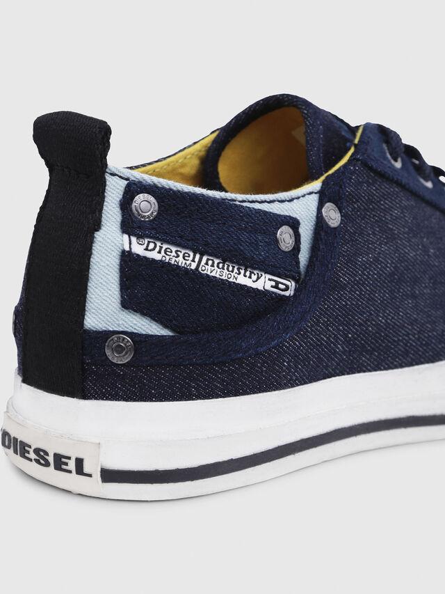 Diesel - EXPOSURE LOW I, Azul Oscuro - Sneakers - Image 5