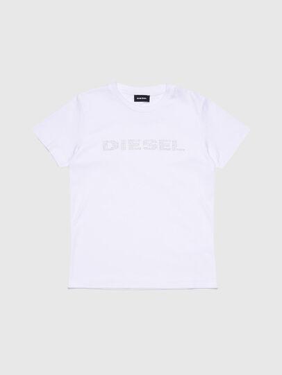 Diesel - TJFLAVIAY, Blanco - Camisetas y Tops - Image 1