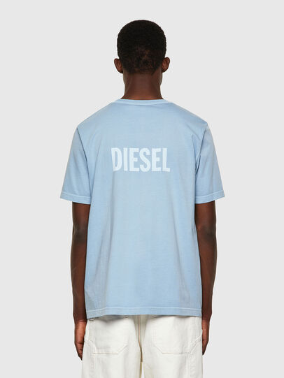 Diesel - T-JUBINDY, Azul Claro - Camisetas - Image 2