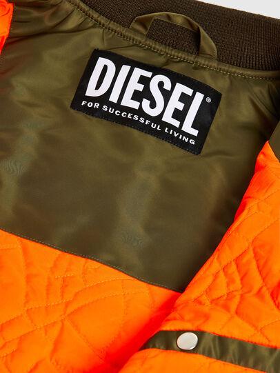 Diesel - J-UPPER, Verde Oliva - Chaquetas - Image 6