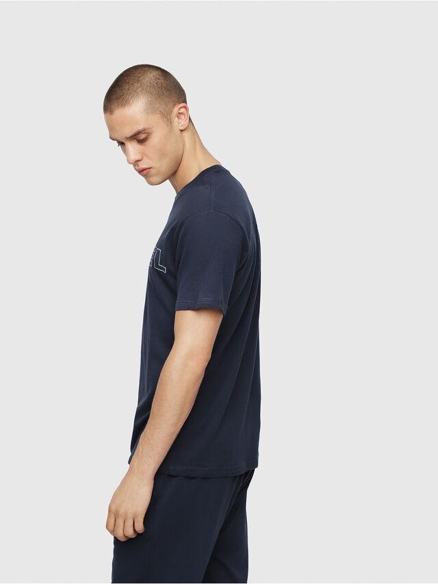 Diesel - UMLT-JAKE, Azul Noche - Camisetas - Image 3