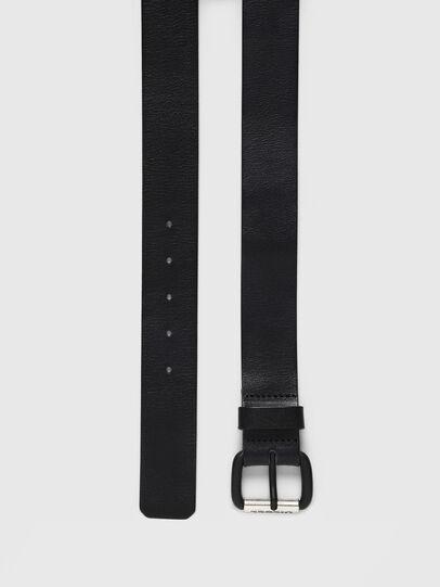 Diesel - B-ZIGRA, Negro - Cinturones - Image 3