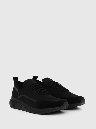 Diesel - S-KBY STRIPE, Negro - Sneakers - Image 2