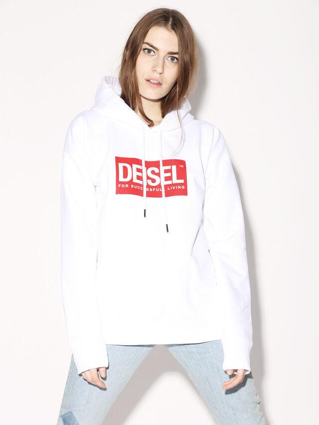 Diesel - DEIS-SHOOD, Blanco - Sudaderas - Image 3