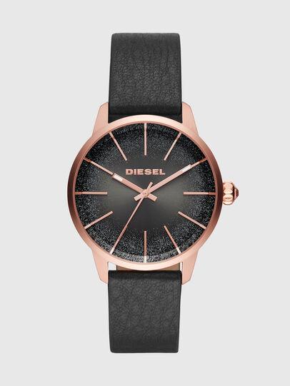 Diesel - DZ5573, Negro Brillante - Relojes - Image 1