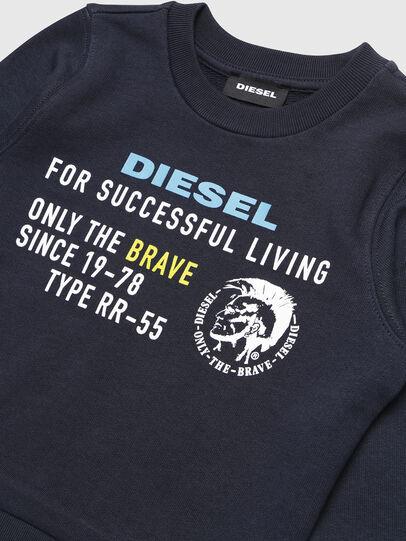 Diesel - SDIEGOXB-R, Azul Oscuro - Sudaderas - Image 3
