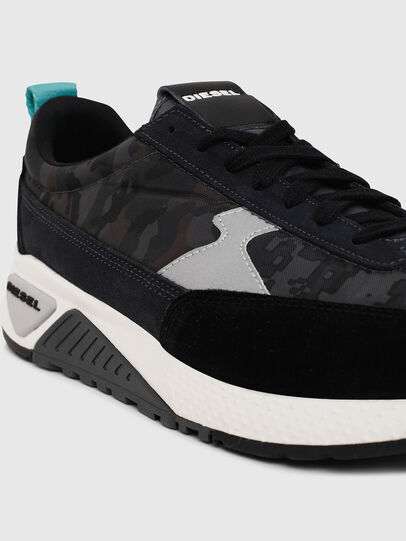 Diesel - S-KB LOW LACE II, Negro/Gris oscuro - Sneakers - Image 4