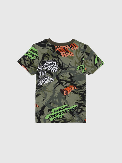 Diesel - TESEOB-R, Verde Militar - Camisetas y Tops - Image 2