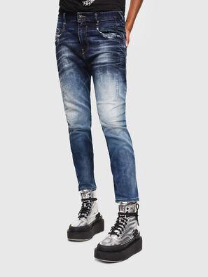Fayza JoggJeans 069KD, Azul Oscuro - Vaqueros