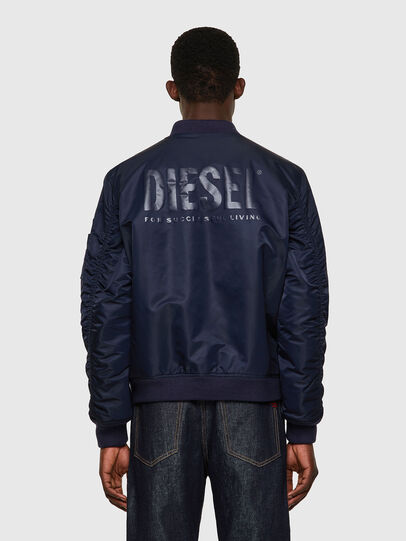 Diesel - J-ROSS-REV-A, Azul Oscuro - Chaquetas - Image 2