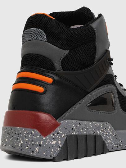 Diesel - S-RUA SP, Gris oscuro - Sneakers - Image 4