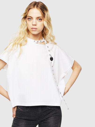 Diesel - T-JALA, Blanco - Camisetas - Image 1