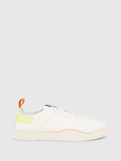 Diesel - S-CLEVER LS W, Blanco/Amarillo - Sneakers - Image 1