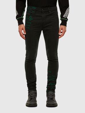 D-Reeft JoggJeans 009HD, Negro/Gris oscuro - Vaqueros