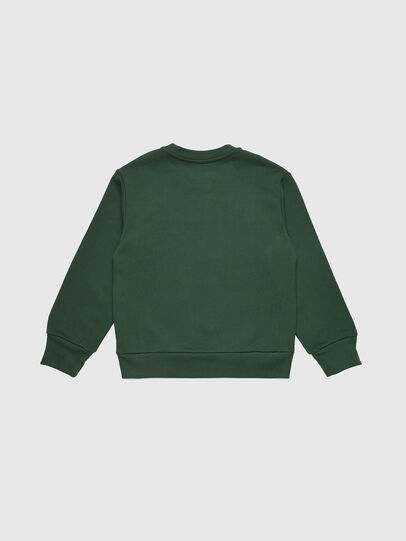Diesel - SCREWDIVISION OVER, Verde Botella - Sudaderas - Image 2