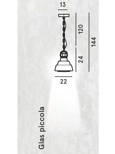 Diesel - GLAS PICCOLA,  - Lámparas de Suspensión - Image 2