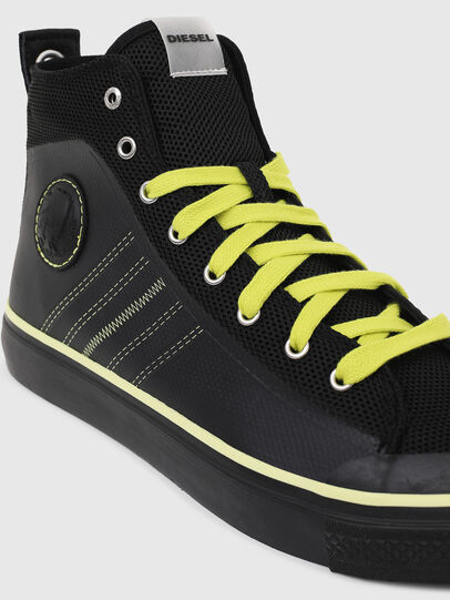 Diesel - S-ASTICO MC H, Negro/Amarillo - Sneakers - Image 4