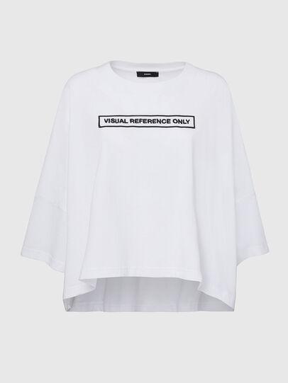 Diesel - T-CRAMBLE, Blanco - Camisetas - Image 1