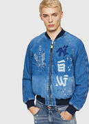 D-BAK, Blue Jeans - Chaquetas de denim