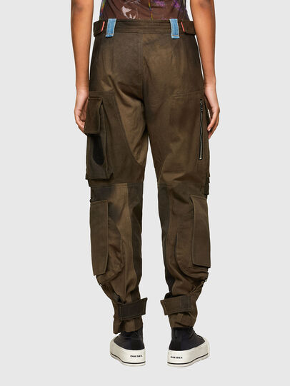 Diesel - P-JANE, Verde Militar - Pantalones - Image 2