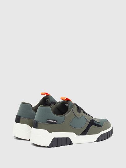Diesel - S-RUA LOW SK, Verde Oliva - Sneakers - Image 3