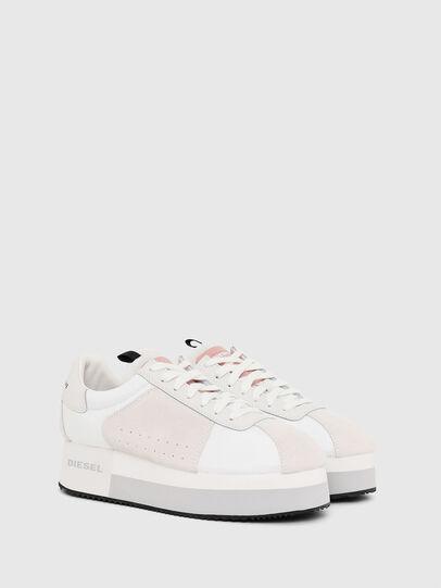 Diesel - S-PYAVE WEDGE, Blanco/Rosa - Sneakers - Image 2