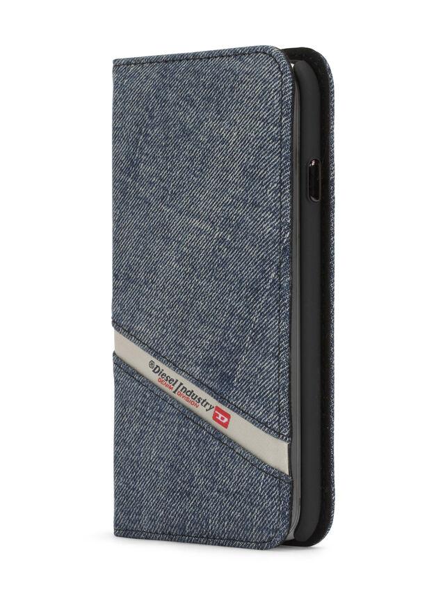 Diesel - DENIM IPHONE 8 PLUS/7 PLUS FOLIO, Blue Jeans - Fundas tipo libro - Image 2