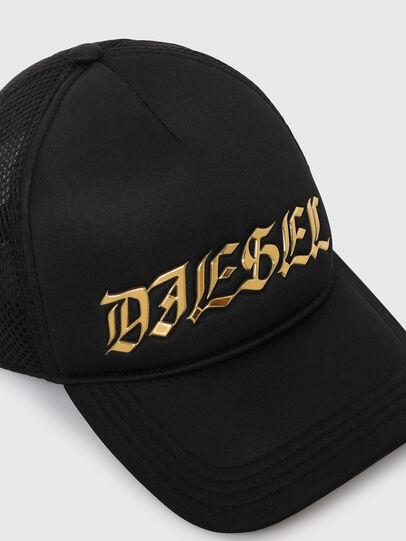 Diesel - C-TRUC, Negro - Gorras - Image 3