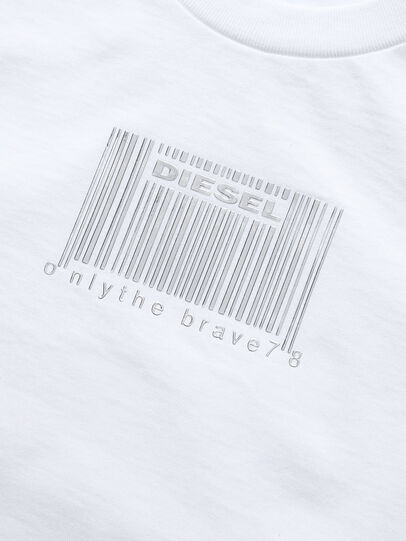 Diesel - TCODE, Blanco - Camisetas y Tops - Image 3