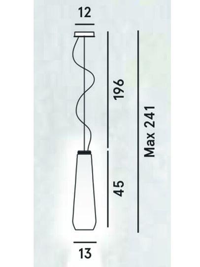 Diesel - GLAS DROP,  - Lámparas de Suspensión - Image 2