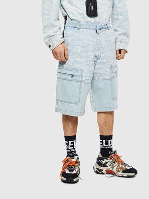 D-LUK-SHORT, Azul Claro - Shorts