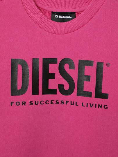 Diesel - SCREWDIVISION-LOGOB-, Rosa - Sudaderas - Image 3