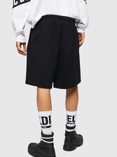 Diesel - P-ALF-SHORT, Negro - Shorts - Image 2
