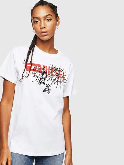 Diesel - T-DARIA-YC, Blanco - Camisetas - Image 1