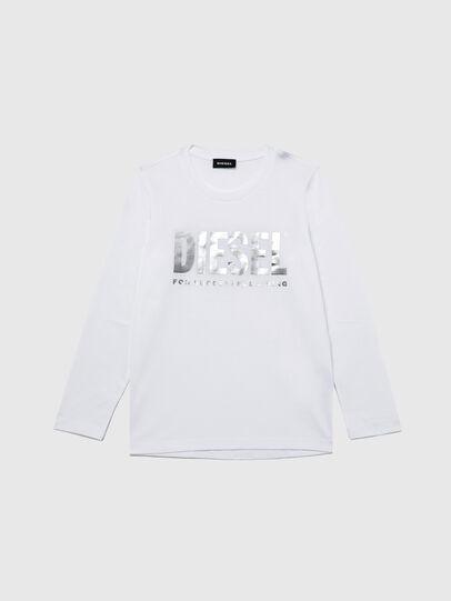 Diesel - TSILYWX ML, Blanco - Camisetas y Tops - Image 1