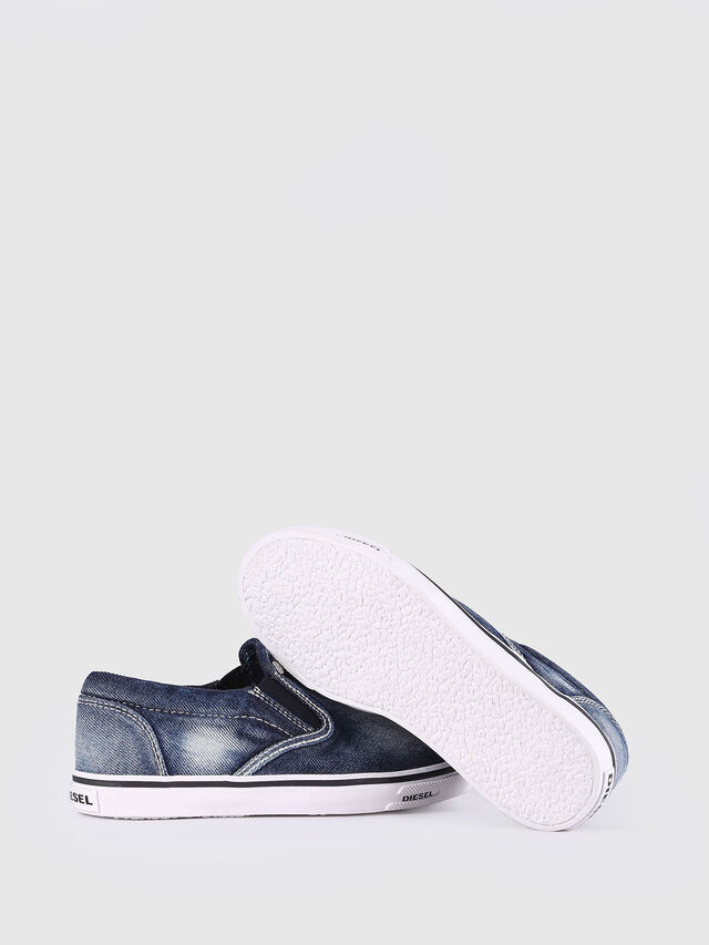 Diesel - SLIP ON 21 DENIM YO, Blue Jeans - Calzado - Image 6