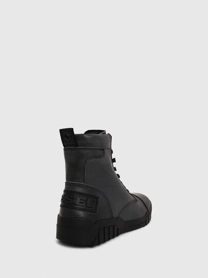 Diesel - H-RUA AM, Azul Oscuro - Sneakers - Image 4