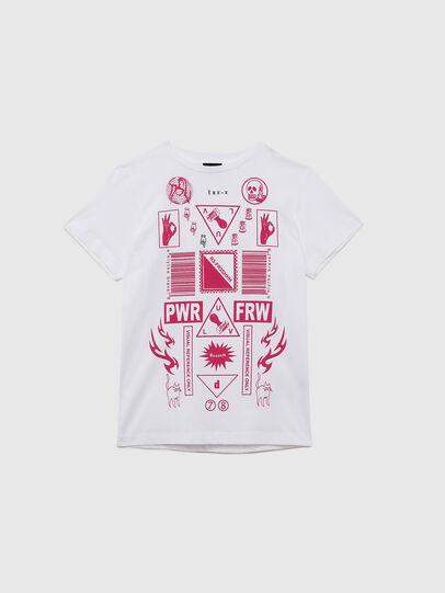 Diesel - TDARIAE, Blanco - Camisetas y Tops - Image 1