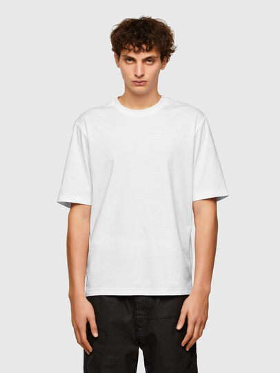 Diesel - T-GORAN-A1, Blanco - Camisetas - Image 1