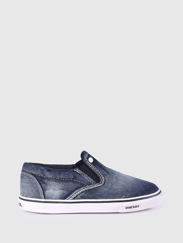 Diesel - SLIP ON 21 DENIM CH, Blue Jeans - Calzado - Image 1
