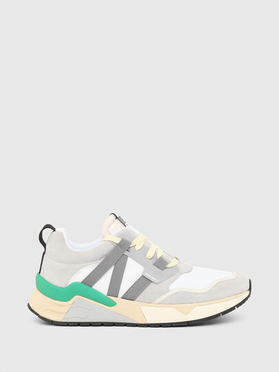 Diesel - S-BRENTHA WL, Blanco/Gris - Sneakers - Image 1
