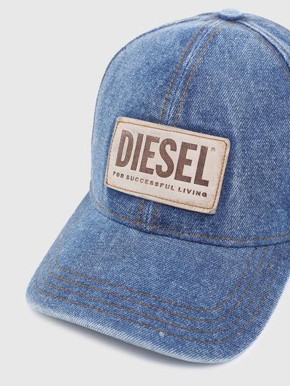 Diesel - C-DEN, Azul - Gorras - Image 3