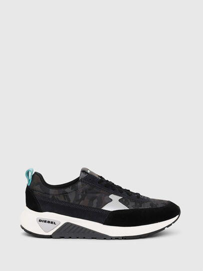 Diesel - S-KB LOW LACE II, Negro/Gris oscuro - Sneakers - Image 1