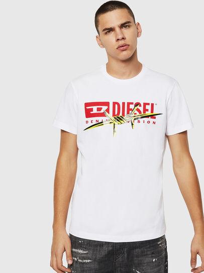 Diesel - T-DIEGO-BX2, Blanco - Camisetas - Image 1