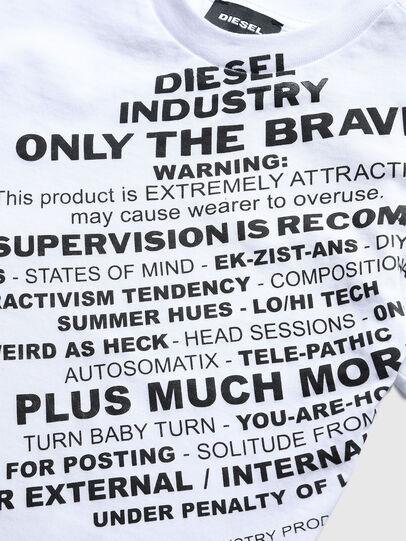 Diesel - TDIEGOS3B-R, Blanco - Camisetas y Tops - Image 3
