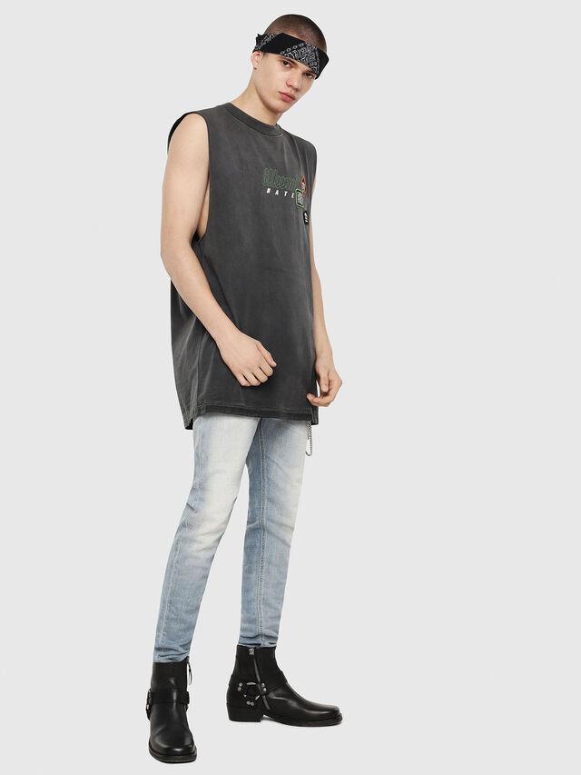Diesel - T-MINOLESS, Negro - Camisetas - Image 4